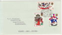 1968-11-25 Christmas Stamps Fishguard cds FDC (57139)