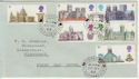 1969-05-28 Cathedrals Stamps Fishguard cds FDC (57142)