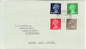 1968-07-01 Definitive Stamps Fishguard cds FDC (57148)