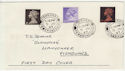 1967-06-05 Definitive Stamps Fishguard cds FDC (57150)