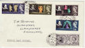 1964-04-23 Shakespeare Stamps Fishguard cds FDC (57151)