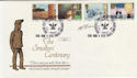 1986-01-14 Steel Smelters Official Signed FDC (57168)