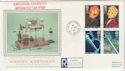 1991-03-05 Scientific Achievements Earldon cds FDC (57170)