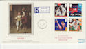 1991-06-11 Sport Stamps Murrayfield cds FDC (57173)