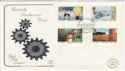 1986-01-14 Industry Year Stamps Birmingham FDC (57207)