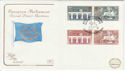 1984-05-15 Europa Stamps London SW1 FDC (57213)