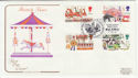 1983-10-05 British Fairs Stamps Staines FDC (57217)