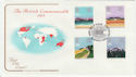 1983-03-09 Commonweath Day Stamps London SW FDC (57218)