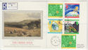 1992-09-15 The Green Issue Stamps Globe Rd cds FDC (57228)