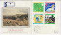 1992-09-15 The Green Issue Stamps Worlds End cds FDC (57229)