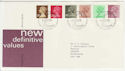 1982-01-27 Definitive Stamps Bureau FDC (57249)