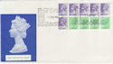1982-02-01 1.43 Booklet Stamps Windsor FDC (57267)