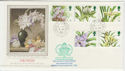 1993-03-16 Orchid Stamps Lords SW1 cds FDC (57272)