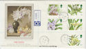 1993-03-16 Orchid Stamps Jamaica St cds FDC (57275)