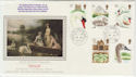 1993-01-19 Swans Stamps Commons SW1 cds FDC (57276)
