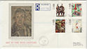 1993-05-11 Art in the 20th Century Much Hadham cds FDC (57277)