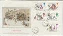 1993-11-09 Christmas Stamps Jerusalem St cds FDC (57278)