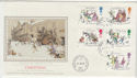 1993-11-09 Christmas Stamps Marylebone cds FDC (57279)
