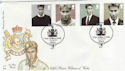 2003-06-17 Prince William 21st Stamps Windsor FDC (57290)
