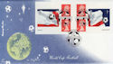 2002-05-21 World Cup Football Bklt Korea Road FDC (57301)