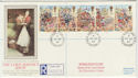 1989-10-17 Lord Mayor's Show Wimbledon cds FDC (57315)