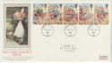 1989-10-17 Lord Mayor's Show London EC cds FDC (57318)