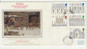 1989-11-14 Christmas Ely Cathedral Exning cds FDC (57319)