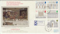 1989-11-14 Christmas Ely Cathedral Barnack cds FDC (57321)