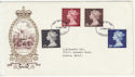 1969-03-05 High Value Definitive Stamps London FDC (57337)