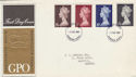 1969-03-05 Definitive High Values Windsor FDC (57341)