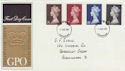 1969-03-05 High Value Definitive Stamps Birmingham FDC (57344)