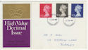1970-06-17 Definitive High Values Burnley FDC (57351)