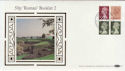 1986-10-20 50p Booklet Stamps St Albans FDC (57364)