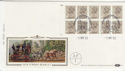 1983-04-05 1.60p Booklet Stamps Windsor FDC (57377)
