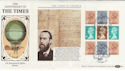 1985-01-08 The Times Full Pane London WC FDC (57382)