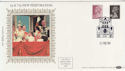 1984-02-21 Definitive 5p 75p Perf Change London SW1 FDC (57390)