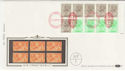 1983-04-05 1.46p Booklet Stamps NPM London EC1 FDC (57398)
