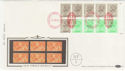 1983-04-05 1.46p Booklet Stamps NPM London EC1 FDC (57399)