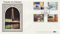1986-01-14 Industry Year Stamps Blackpool FDC (57433)