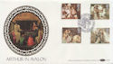 1985-09-03 Arthurian Legend Stamps Glastonbury FDC (57437)