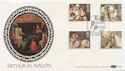 1985-09-03 Arthurian Legend Stamps Glastonbury FDC (57438)