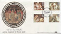 1985-09-03 Arthurian Legend Stamps Winchester FDC (57439)