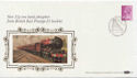 1986-03-18 Definitive 31p From Rail Booklet Bureau FDC (57458)