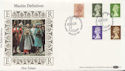 1984-08-28 Definitive Stamps Windsor FDC (57494)