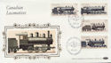 1985-11-07 Canadian Locomotives Stamps FDC (57545)