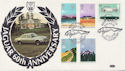 1983-03-09 Commonwealth Day / Jaguar 60th Coventry FDC (57621)