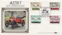 1982-10-13 Austin 7 60th Car Stamps FDC (57625)