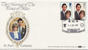 1981-07-22 Royal Wedding St Paul's EC4 Benham FDC (57630)