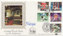 1983-11-16 Christmas Stamps Lyminge Signed FDC (57658)