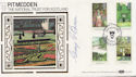 1983-08-24 Gardens Stamps Pitmedden Signed FDC (57666)